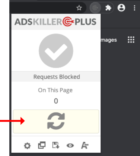 ads killer adblocker refresh