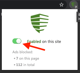 Easy Ad Blocker step two